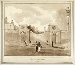 Victualing Yard Gates Deptford
